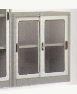 Lemari Arsip Sliding Glass Door 1 Shelf Alba