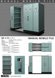 Manual Mobile File MF 4-18 Alba